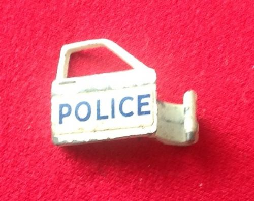 Dinky Toys 255 - Original - Ford Zodiac Police car MKIV - Front Right Door including the Red plastic Door Trim